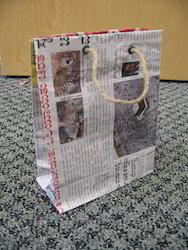 News Paper Bags From Old News Paper