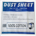 Plain Cotton Dust Sheets