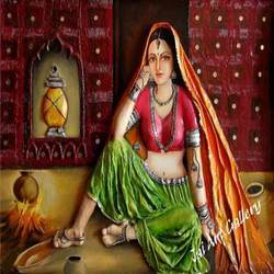 Beautiful Lady Paintings