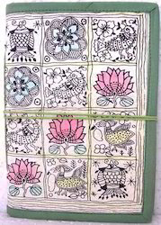Handmade Paper Madhubani Print Journals