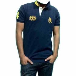 Pique Cotton T-Shirt