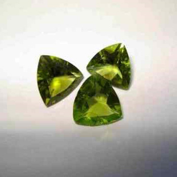 Green Peridot Gemstones