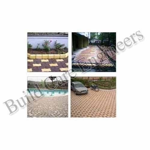 Concrete Block Pavement Work