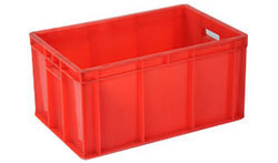 Red Industrial Crates