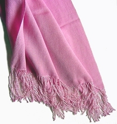 Silk Pashmina Beaded Fringes
