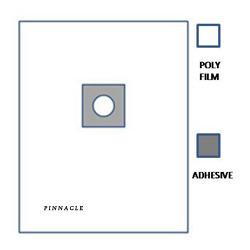 O Drape Large Poly C.no. P0062 Micron Thick Poly Sheet