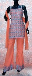 Pure Georgette Pre Stitched Salwar-Kameez