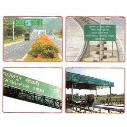 Traffic Gantry Signs