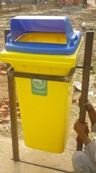 Dustbin Pole Mounted