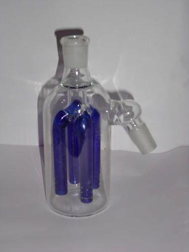 Blue Colored Glass Ash Catcher