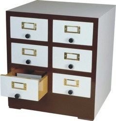 Reference Card Cabinet For 13x8cm. Cards