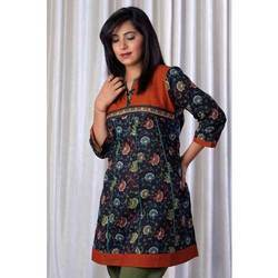 Designer Long Printed Kurta