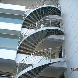 Round Stairs Balustrade