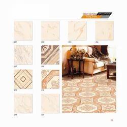 Matt Series - Ivory Print Tiles