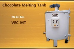 Chocolate Melting And Storage Tanks