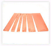 Copper Strips, Bus Bars & Profiles