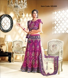 Exotic Deep Pink Lehenga Choli