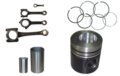 Liners, Pistons Rings And Connecting Rods