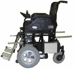 Manual Lifting Option Wheelchair Powered
