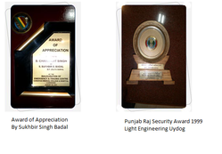 Awards Of Appriciation