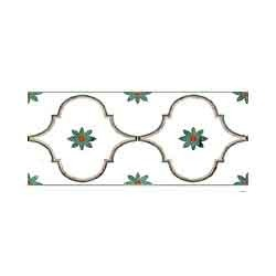Commercial Marble Inlay Border Tile