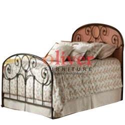 Contemporary Metal Bed