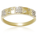18k Gold Micro Pave Ring