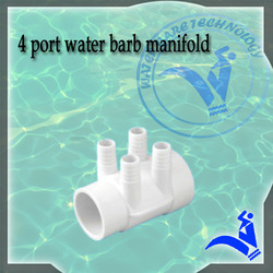 4 Port Water Barb Manifold