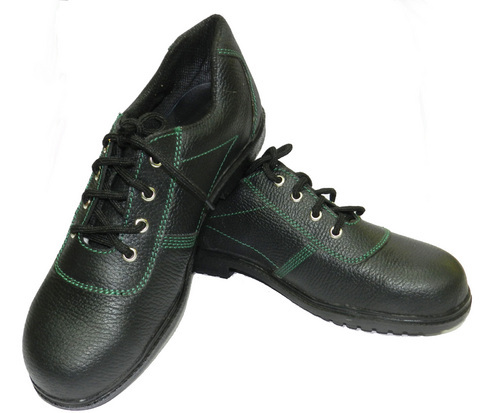 Barton Print Leather Safety Shoes