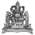 lord of success white metal god idols figures
