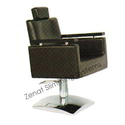 square with wooden handle reclying