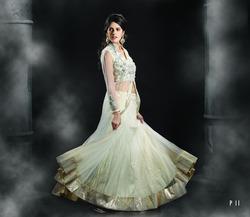 White Long Designer Dress