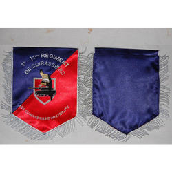4eme Regimental Table Flag