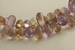 AAA Ametrine Faceted Drops