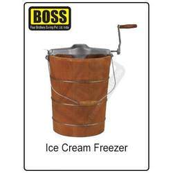 Hand Operated Ice Cream Freezer
