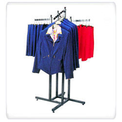 Retail Display Garment Shelving Solutions-Hanging Only