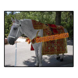 Wedding Horse Costume With Kalash Desigen