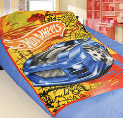 Hot Wheels Blanket