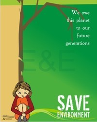 Save Environment Posters