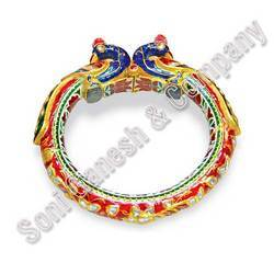 Diamond Meena Bangles