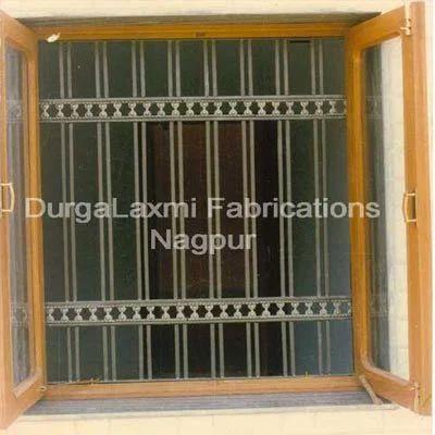 Straight Bar Window Grill   Durga Laxmi Fabrication & Traders ...