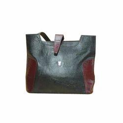 Fashionable Printed Women Leather Handbag, Size: Custom