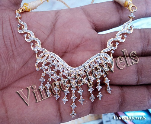 Diamond Yellow Gold Necklaces