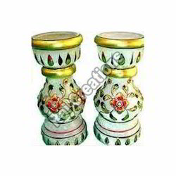 Designer Marble Candle Stand
