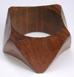 Chocolate Wooden Napkin Ring