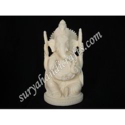 Bone Sitting Ganesh Ji