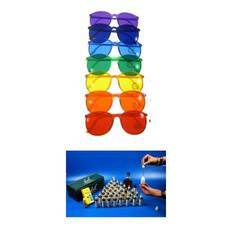 Color Therapy Glasses Color Crystals
