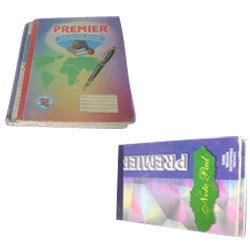 Exercise Book And Pads