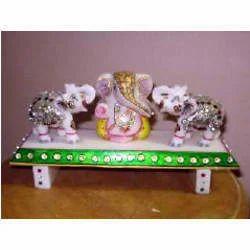 Ganesh and Elephant Set