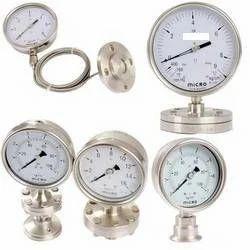 Diaphragm Sealed Pressure Gauges